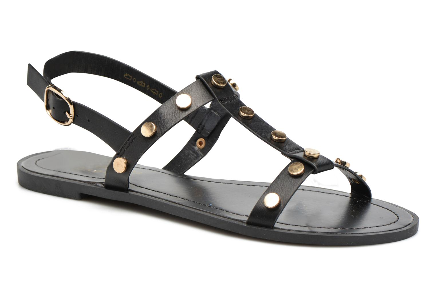 Sandalen I Love Shoes THEA Zwart detail