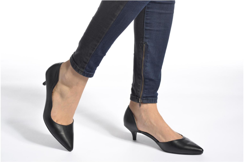 Escarpins I Love Shoes THETA Noir vue bas / vue portée sac