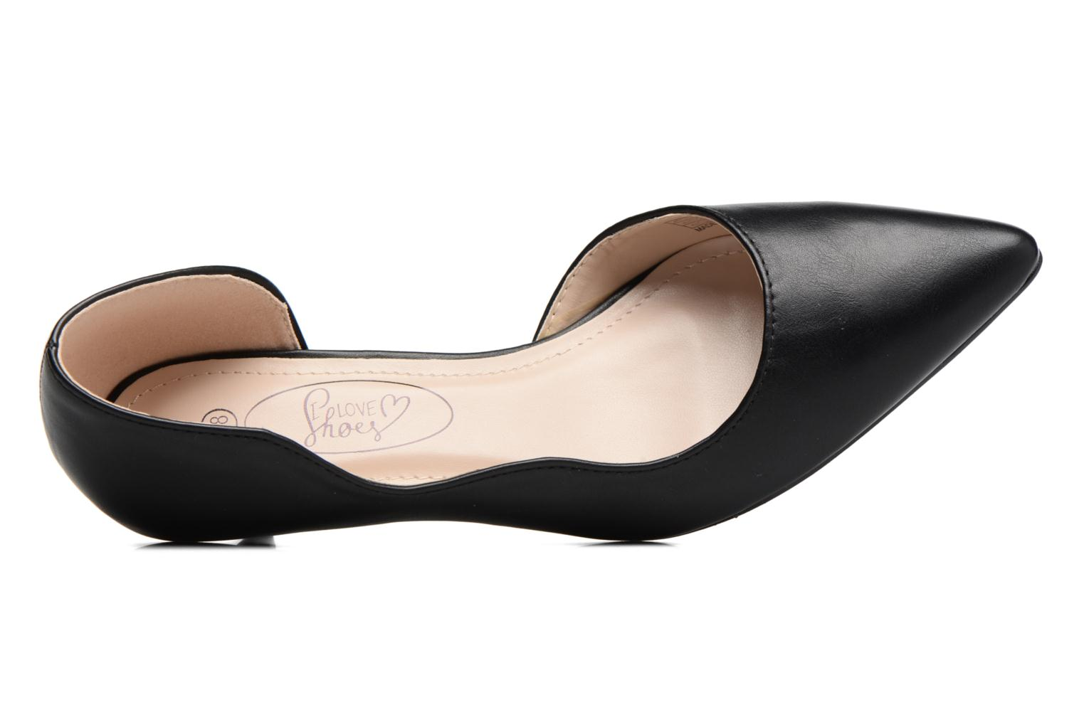 Pumps I Love Shoes THETA schwarz ansicht von links