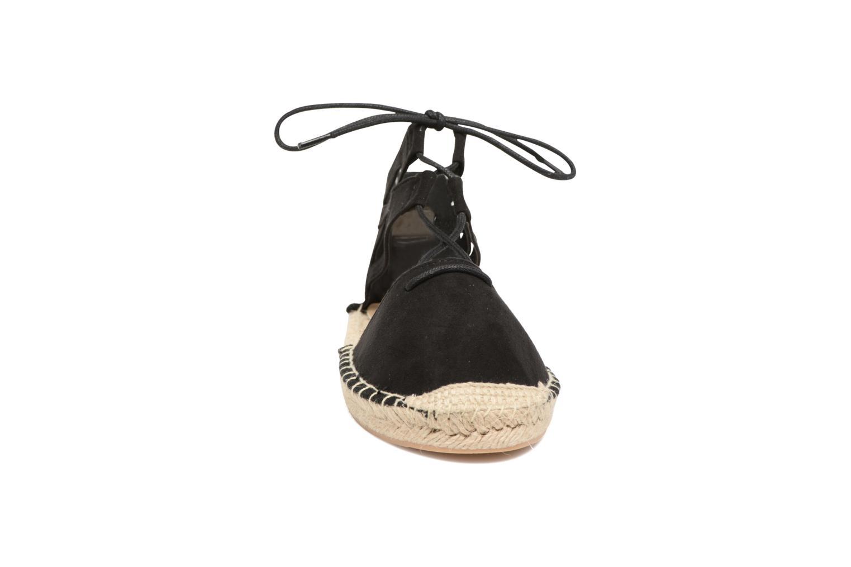 Espadrilles I Love Shoes THYADE Noir vue portées chaussures