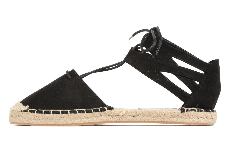 Espadrilles I Love Shoes THYADE Noir vue face