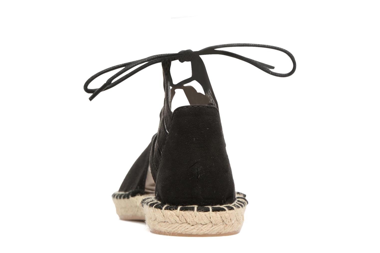 Espadriller I Love Shoes THYADE Svart Bild från höger sidan
