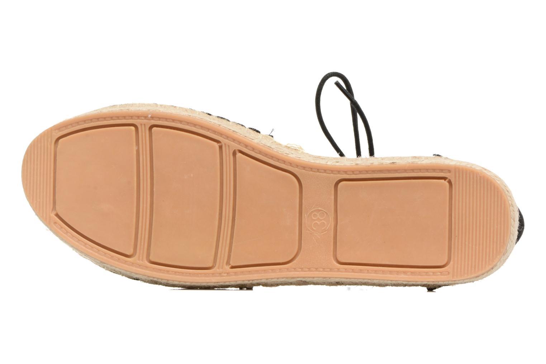 Espadriller I Love Shoes THYADE Svart bild från ovan