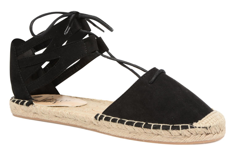 Espadriller I Love Shoes THYADE Svart detaljerad bild på paret