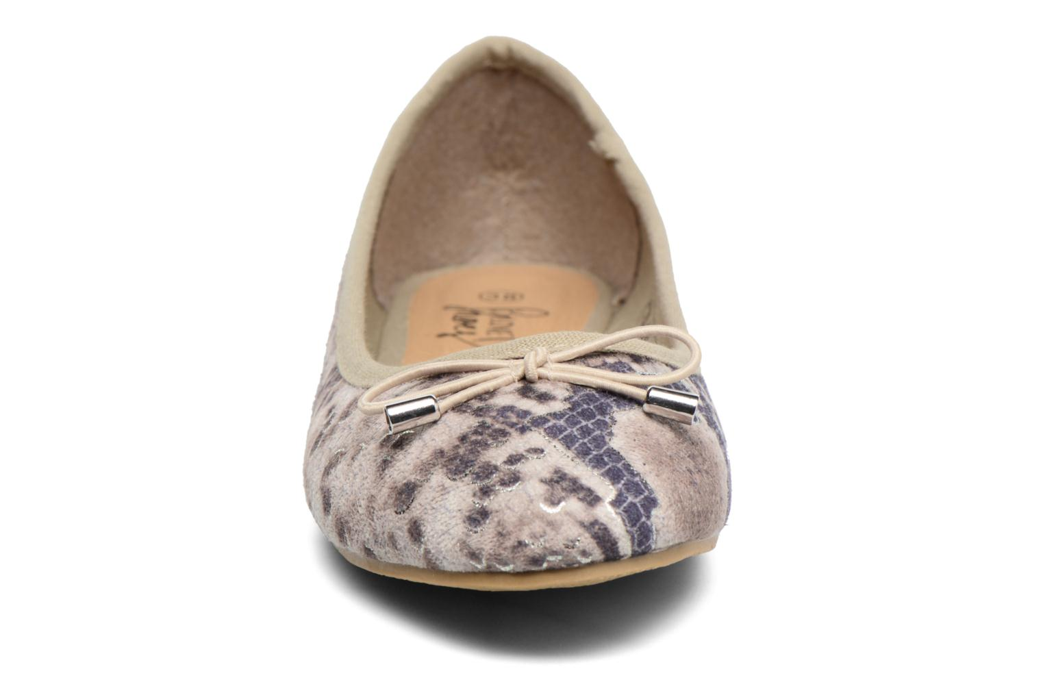 Ballerines I Love Shoes THENSELY Beige vue portées chaussures