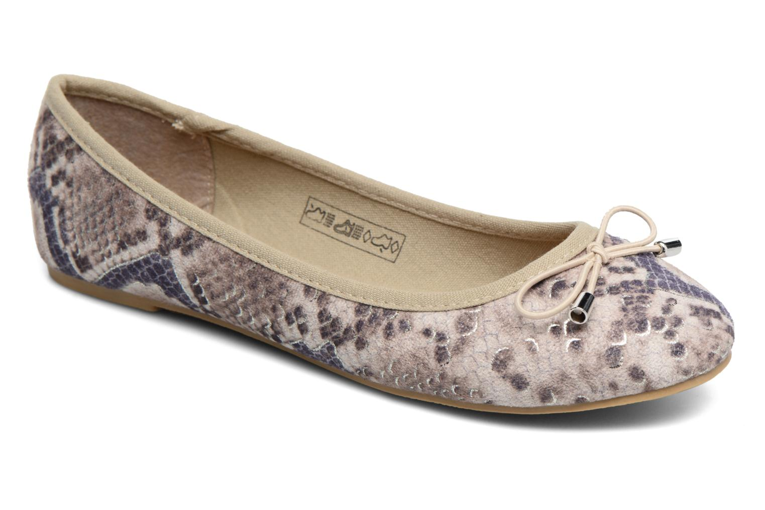 Ballet pumps I Love Shoes THENSELY Beige detailed view/ Pair view
