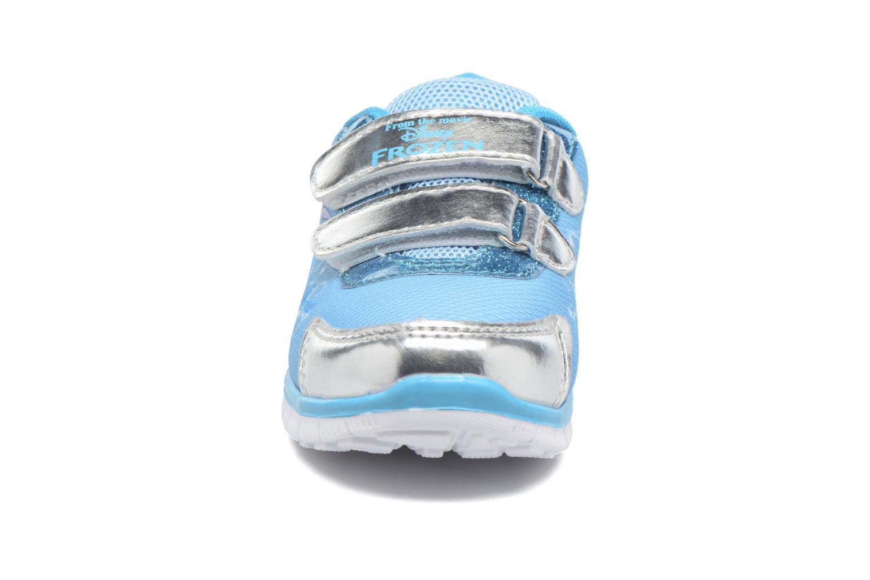 Baskets Frozen GLACE Bleu vue portées chaussures