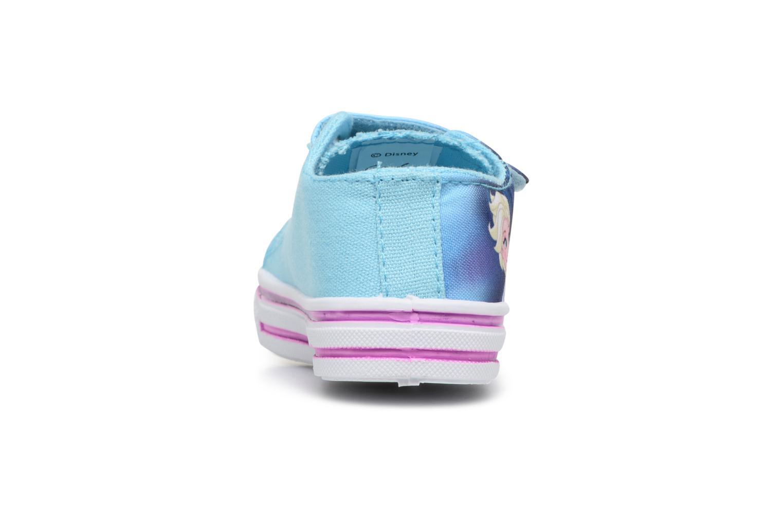 Baskets Frozen KYRIELLE Bleu vue droite