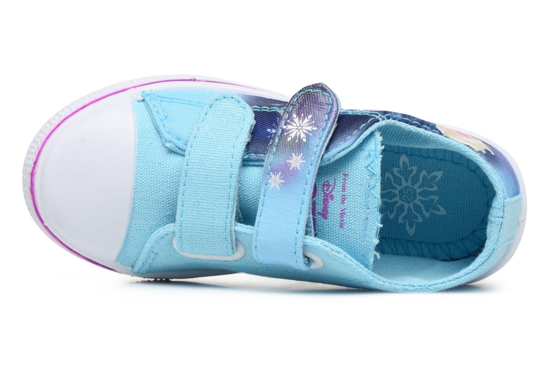 Baskets Frozen KYRIELLE Bleu vue gauche
