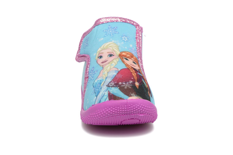 Chaussons Frozen SABAYA Bleu vue portées chaussures