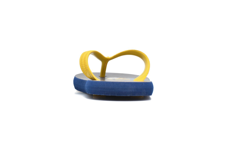 Tongs Minions Trio Bleu vue droite