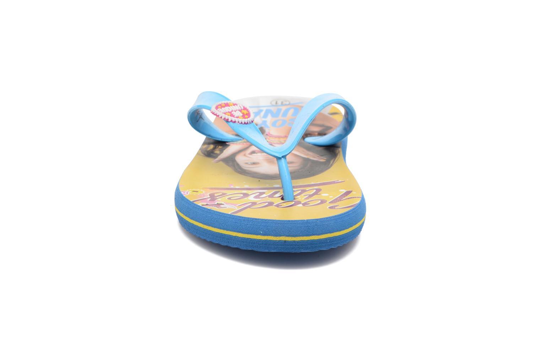 Infradito Soy Luna TELMA Azzurro modello indossato