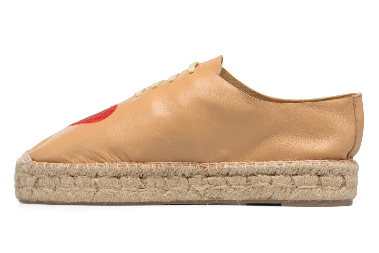 Espadrilles Apologie Adrienne Brown front view