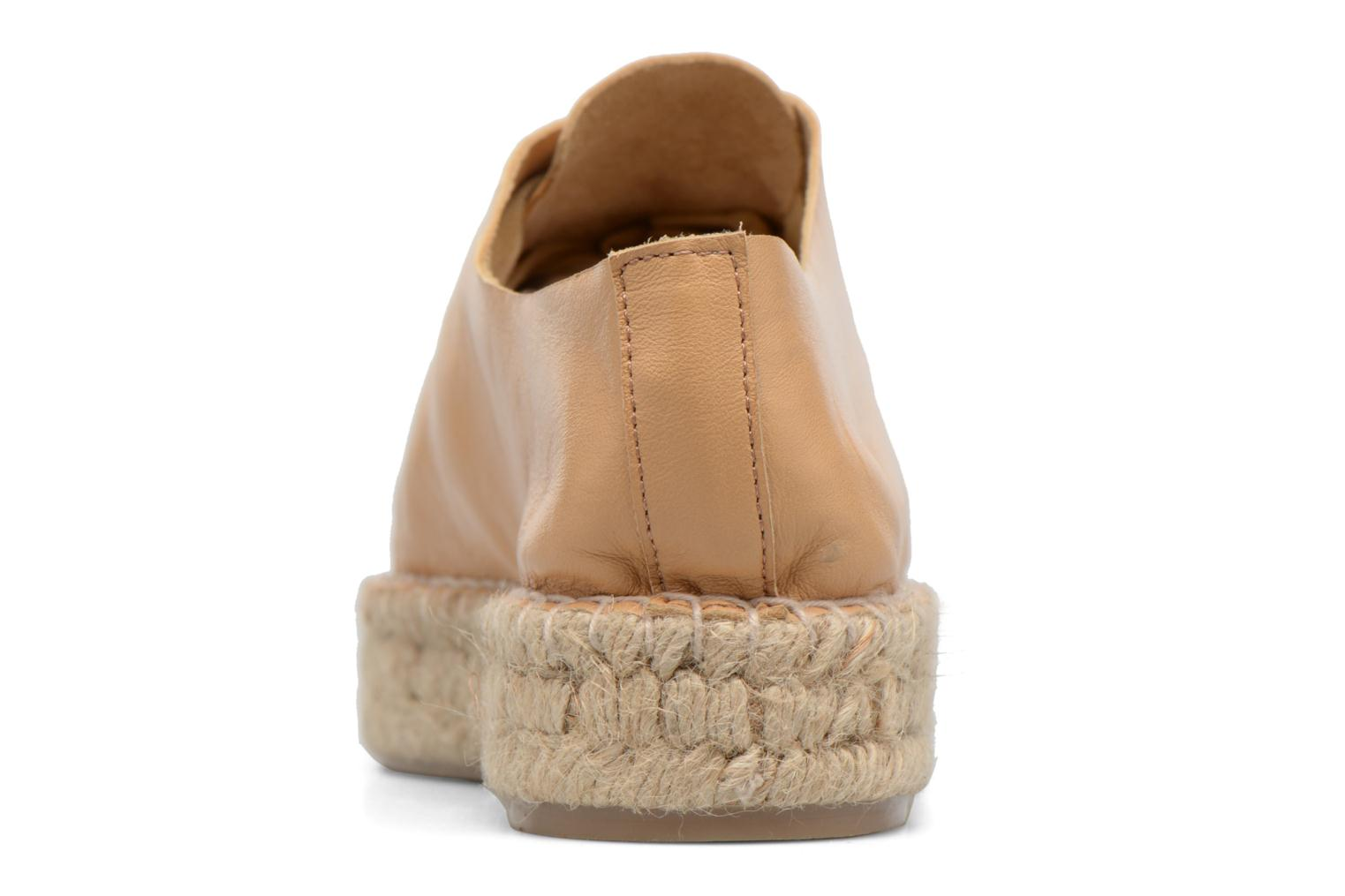 Espadrilles Apologie Adrienne Brown view from the right