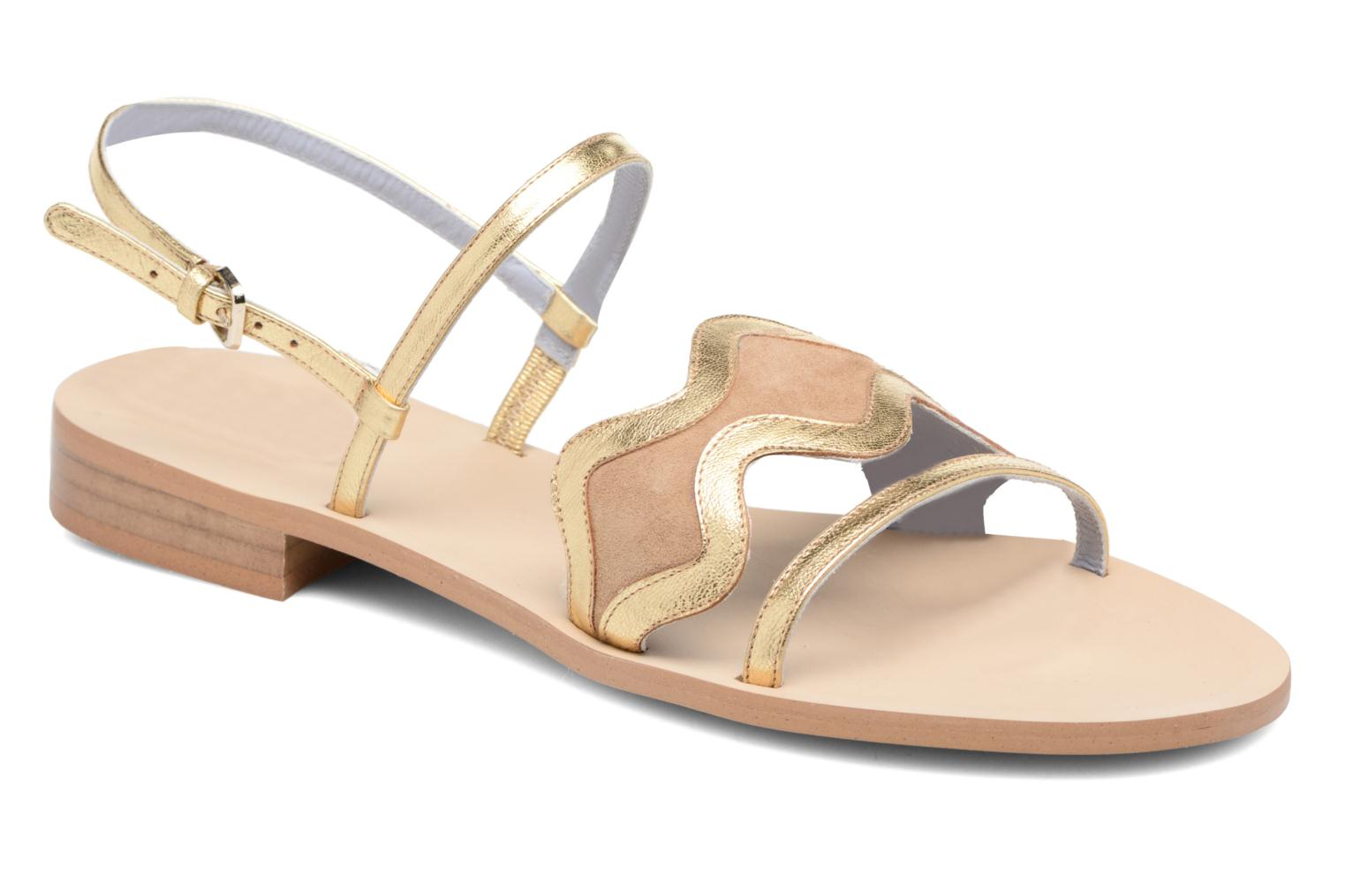Marques Chaussure luxe femme Apologie femme AZAHAR Yellow