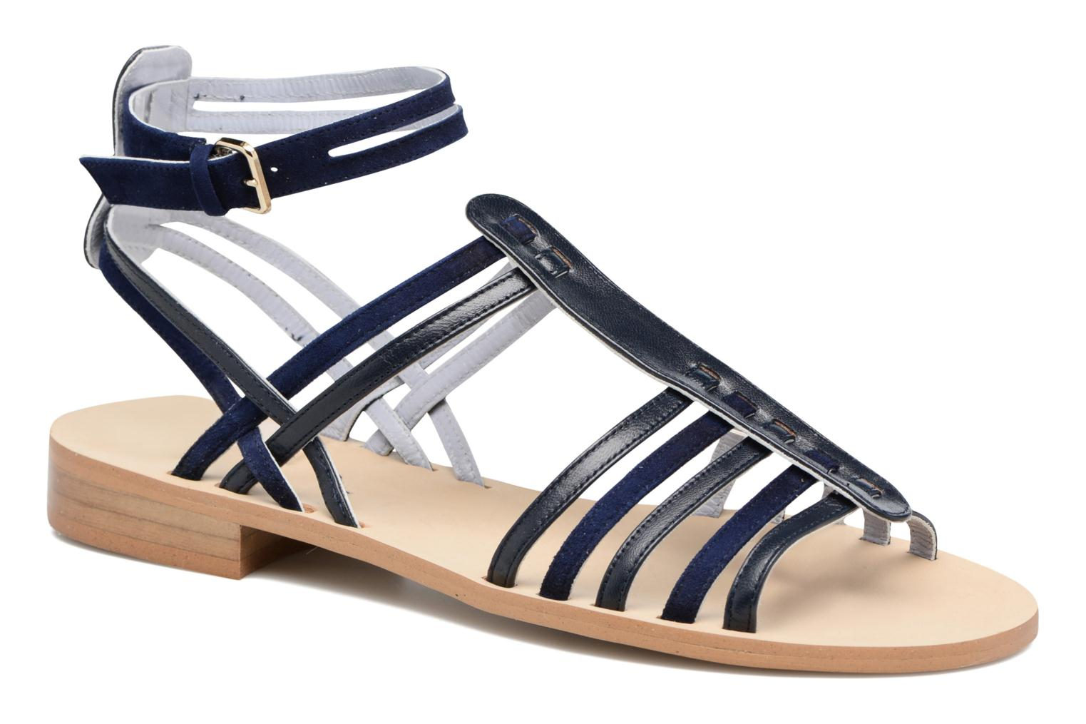 Sandals Apologie Medusa Blue detailed view/ Pair view