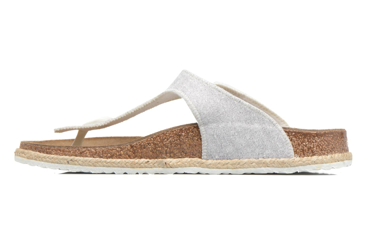 Mules & clogs Papillio Gizeh Grey front view