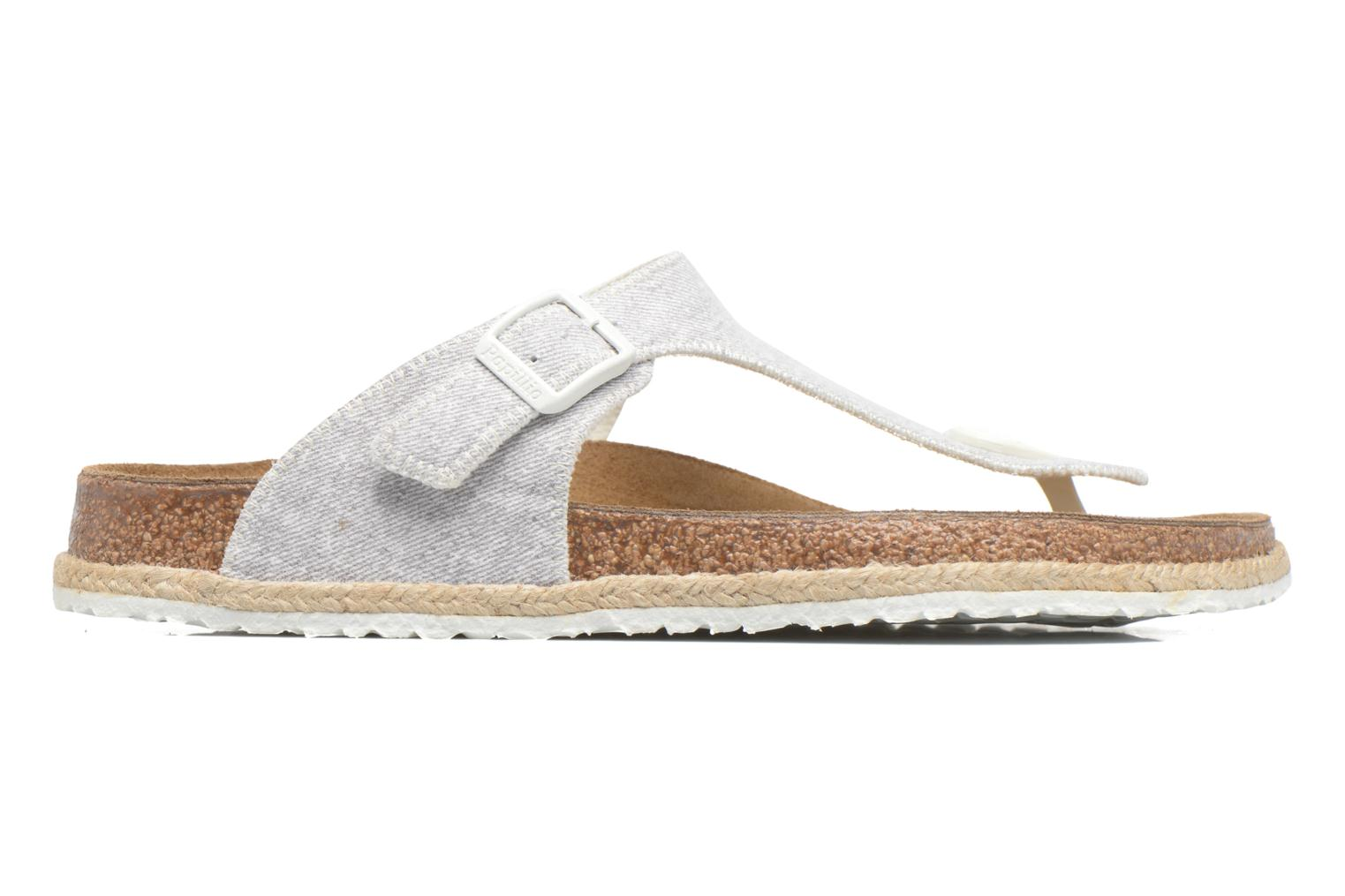 Mules & clogs Papillio Gizeh Grey back view