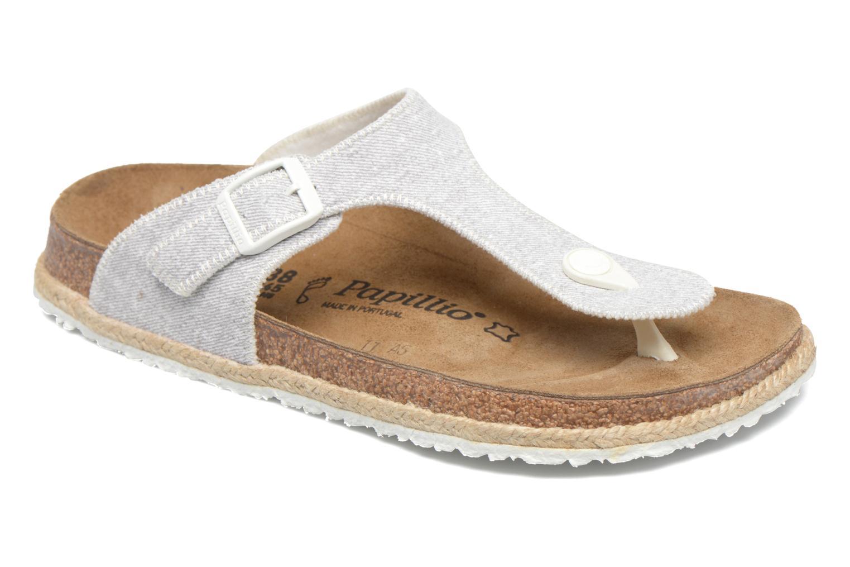 Papillio Gizeh, Damen Flip-Flops, Grau (Beach Light Gray), 37 EU