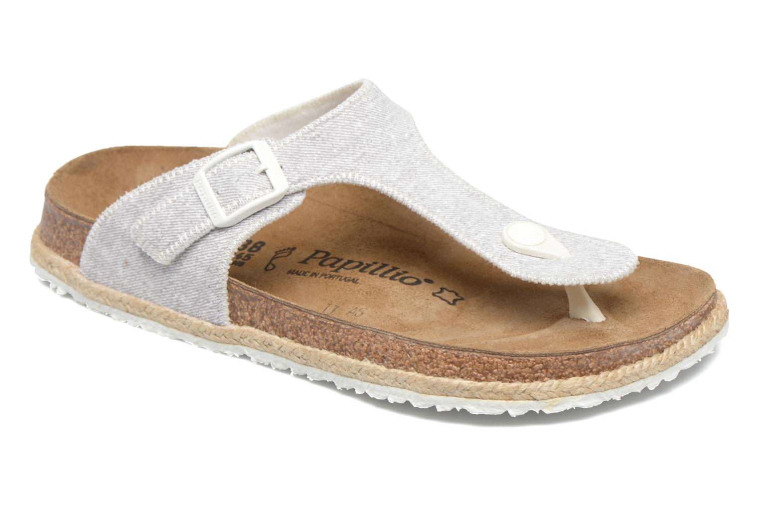 Mules & clogs Papillio Gizeh Grey detailed view/ Pair view