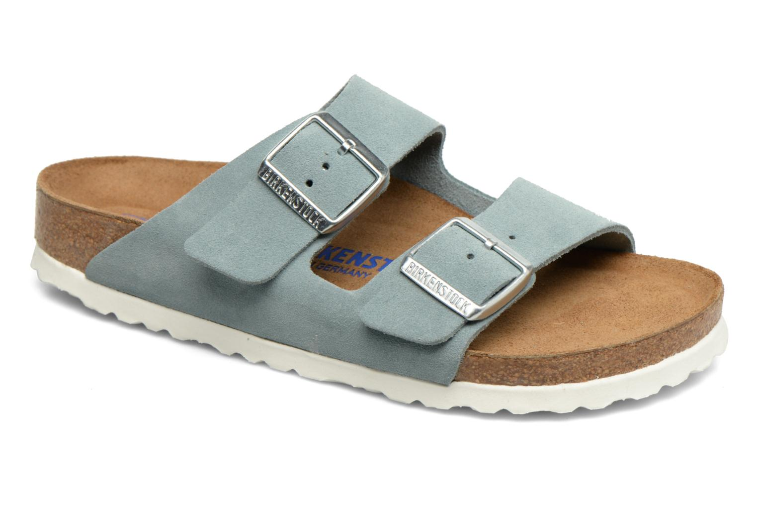 Arizona W Light Blue Soft Footbed