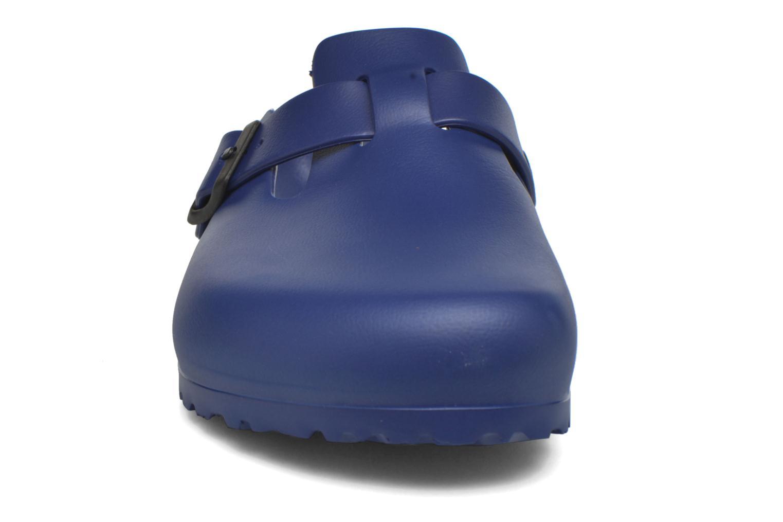 Sandales et nu-pieds Birkenstock Boston Eva Bleu vue portées chaussures