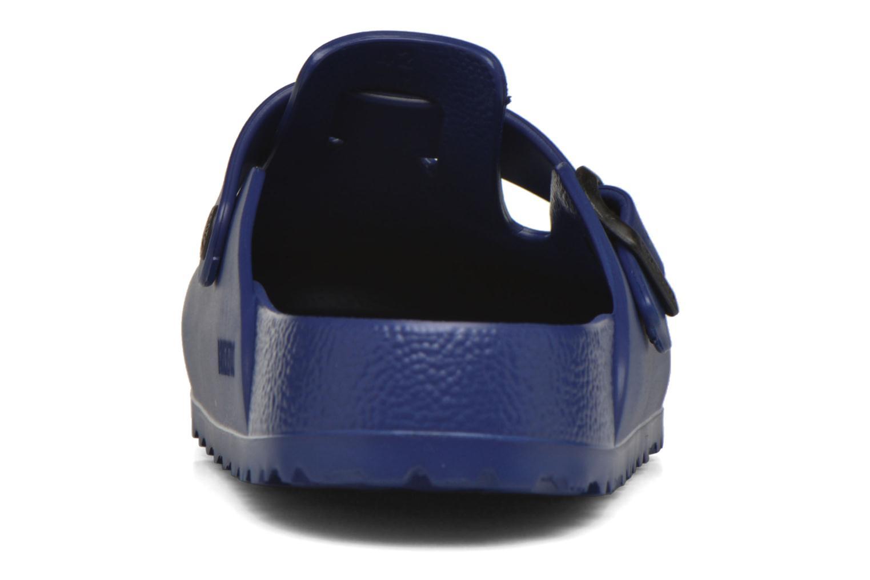 Sandales et nu-pieds Birkenstock Boston Eva Bleu vue droite