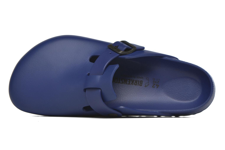 Sandales et nu-pieds Birkenstock Boston Eva Bleu vue gauche
