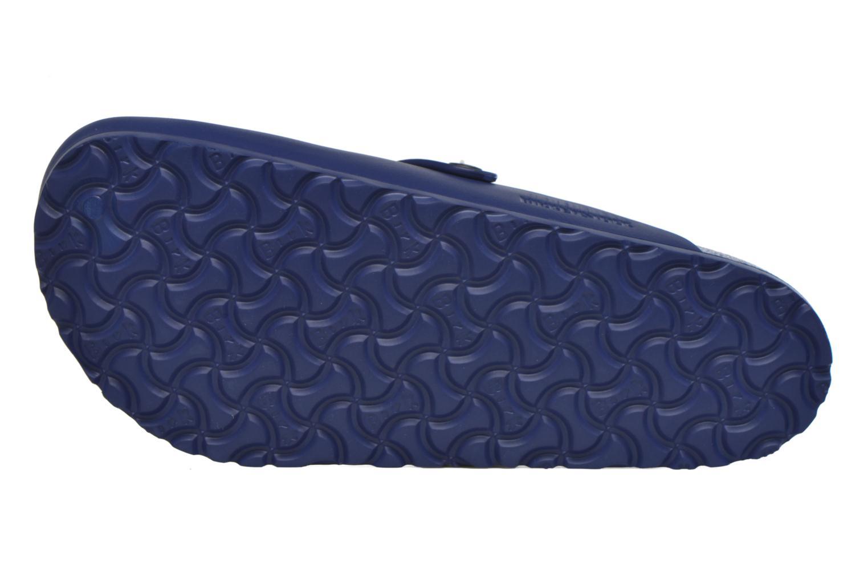 Sandales et nu-pieds Birkenstock Boston Eva Bleu vue haut