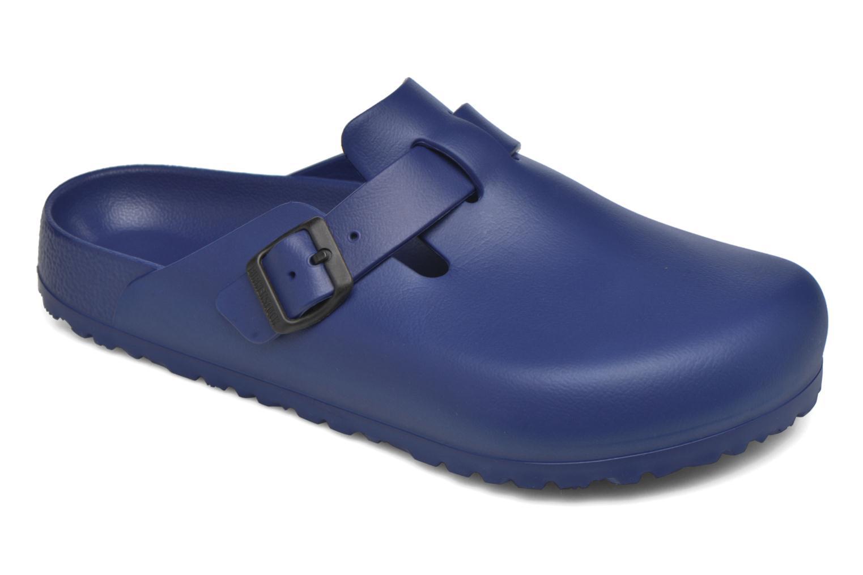 Sandales et nu-pieds Birkenstock Boston Eva Bleu vue détail/paire