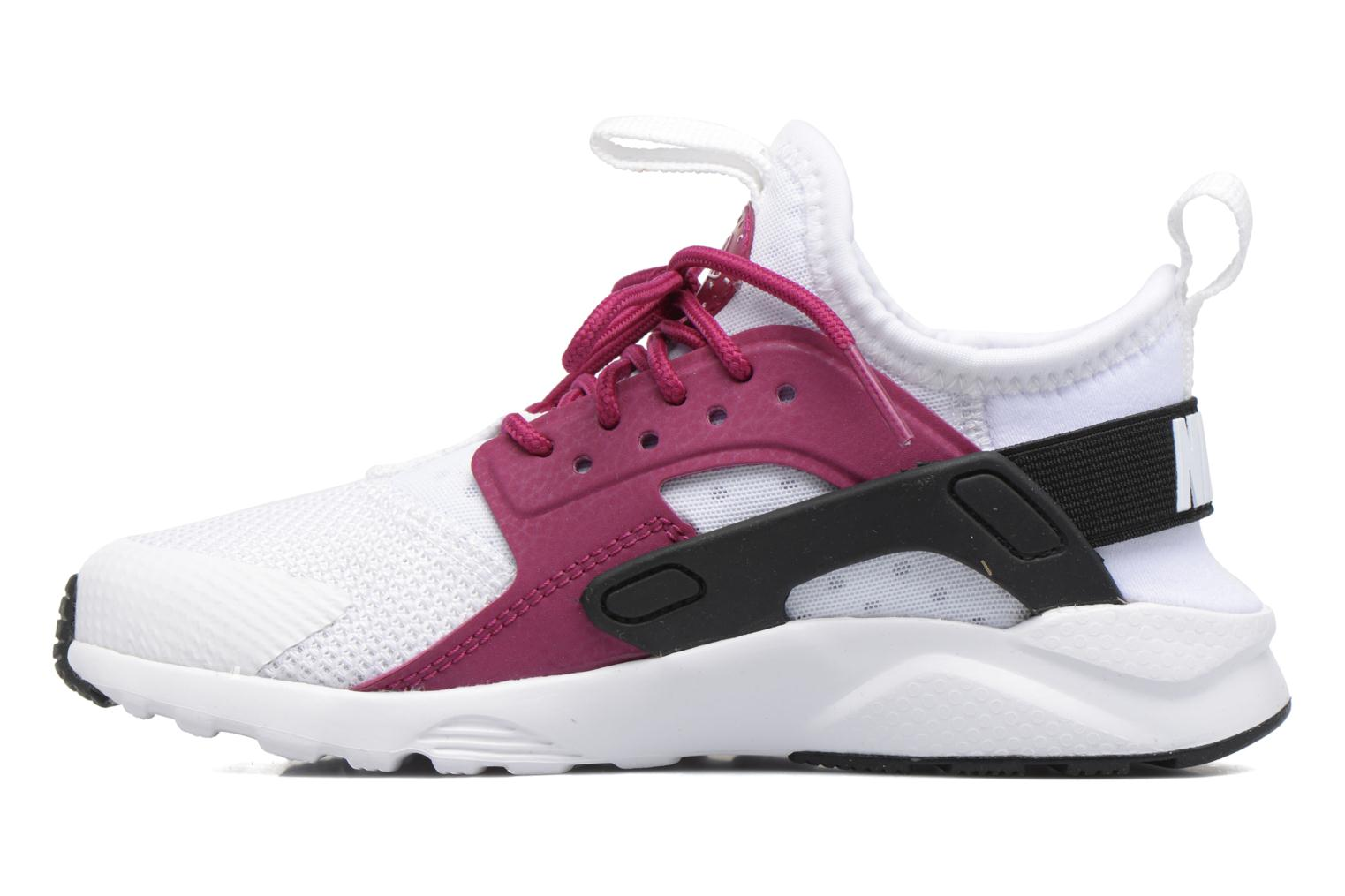 Black/white Nike Nike Huarache Run Ultra (Ps) (Noir)