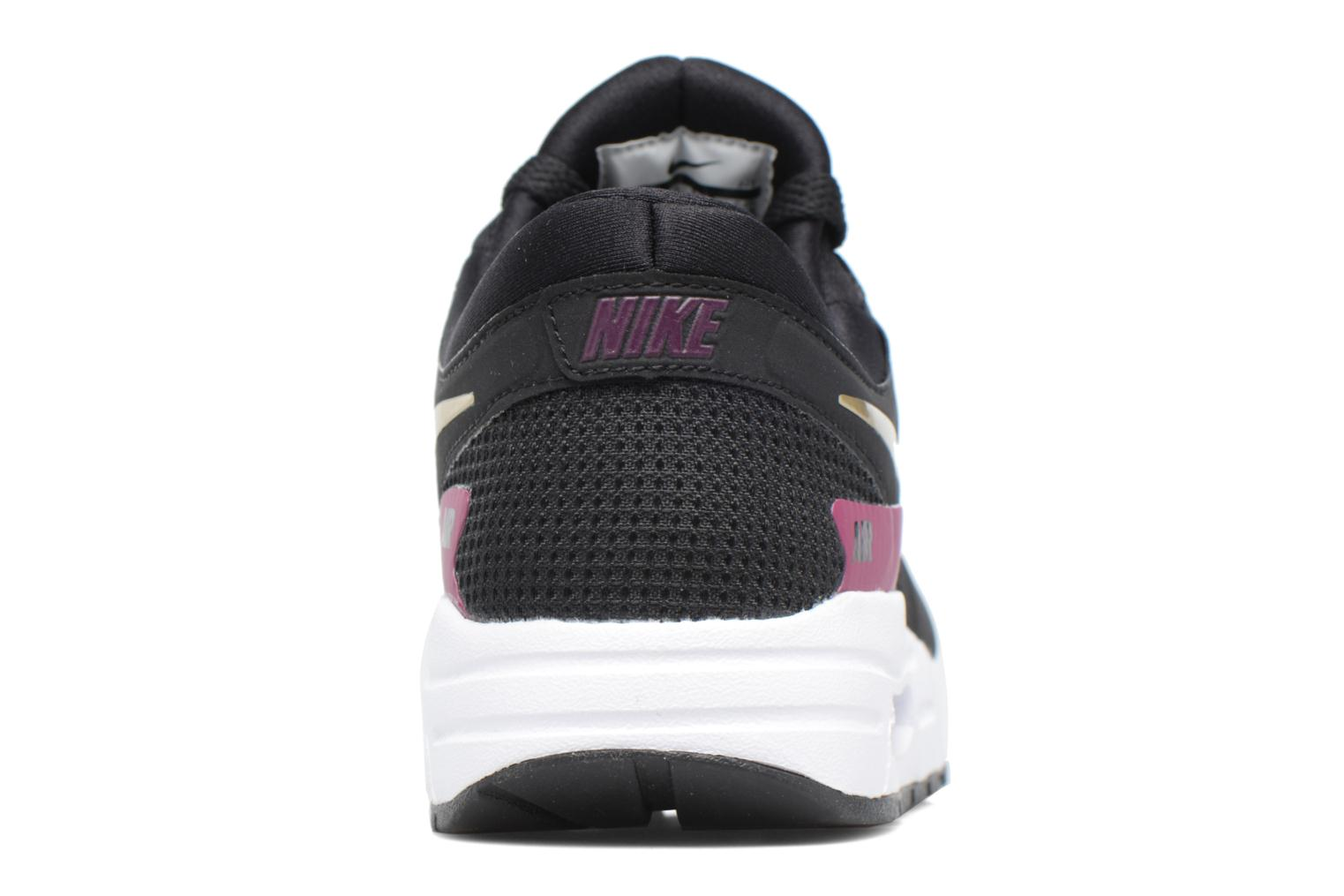 Black/Metallic Gold-White-Tea Berry Nike Nike Air Max Zero Essential (Gs) (Noir)