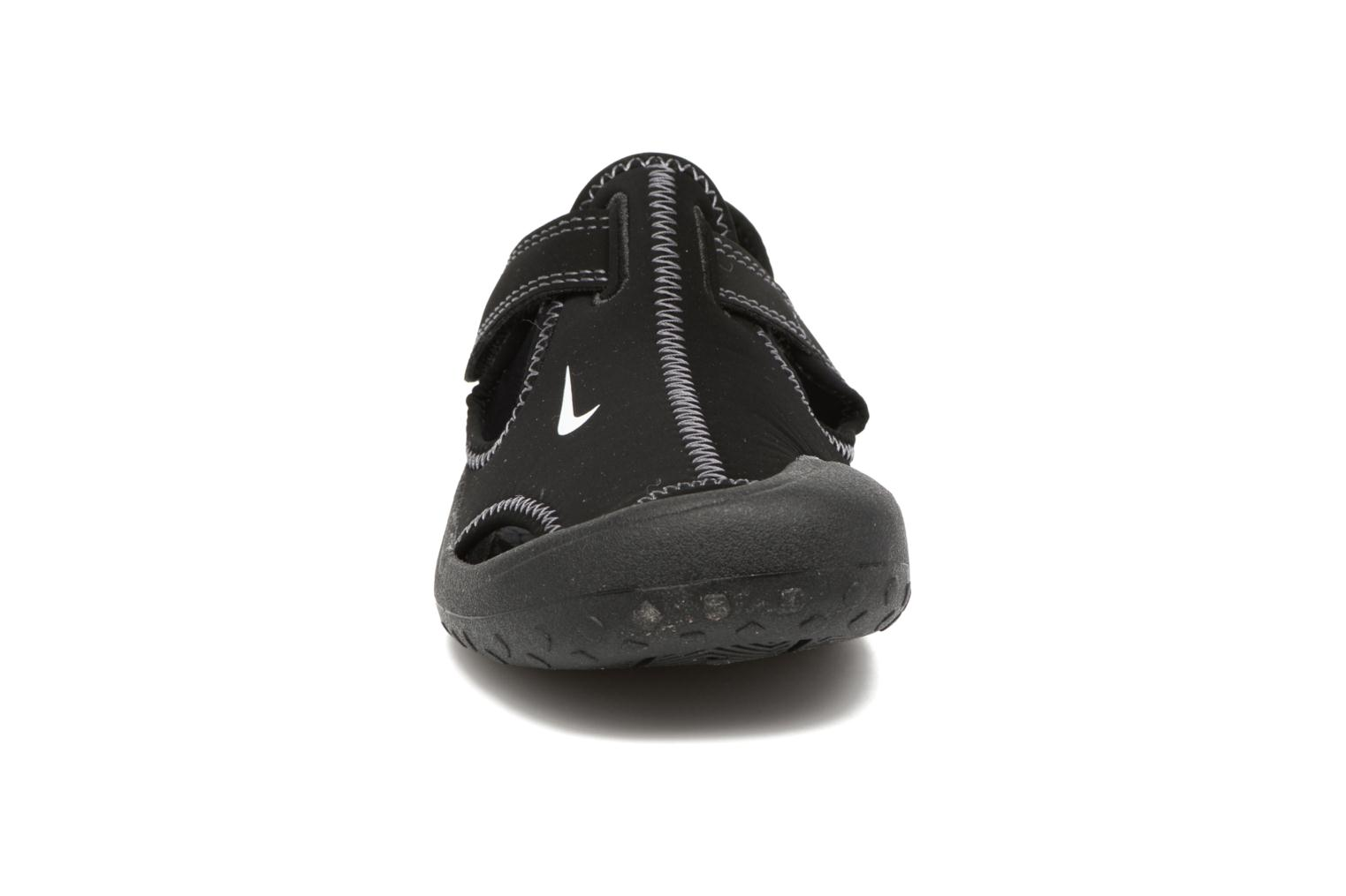 Sandals Nike Nike Sunray Protect (Ps) Black model view