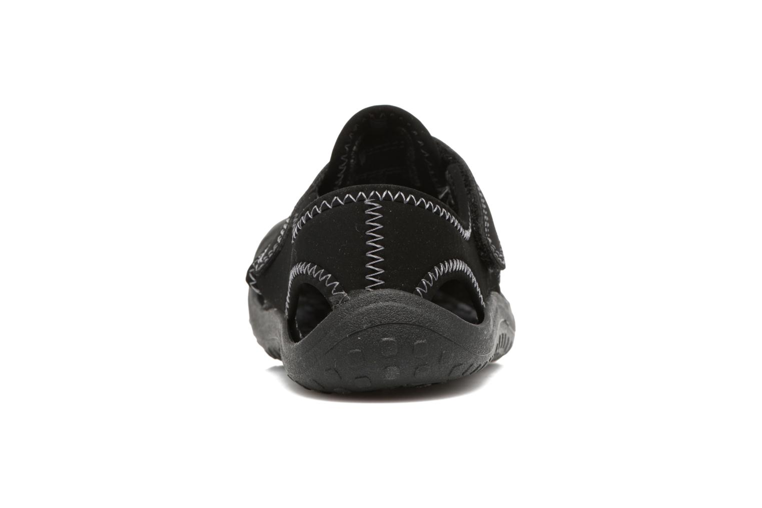 Sandals Nike Nike Sunray Protect (Ps) Black view from the right