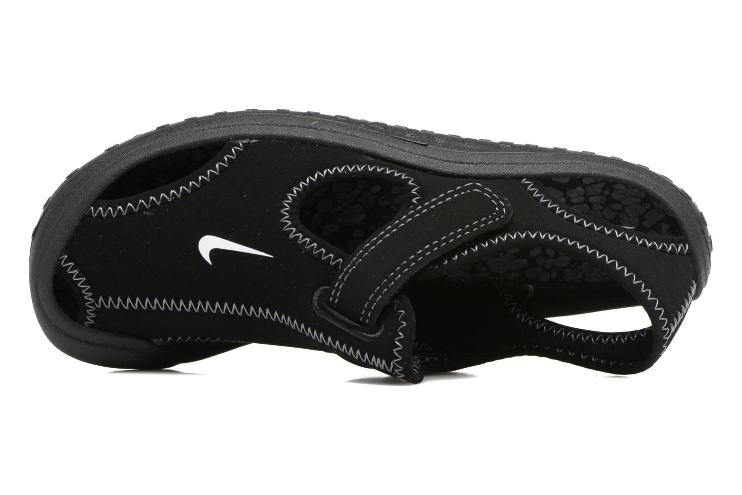 Sandals Nike Nike Sunray Protect (Ps) Black view from the left