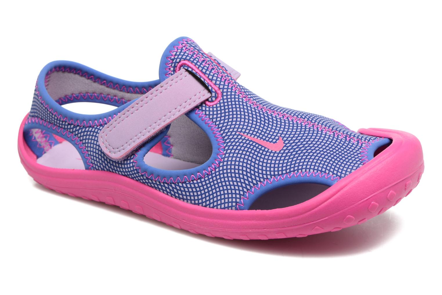 Sandals Nike Nike Sunray Protect (Ps) Pink detailed view/ Pair view