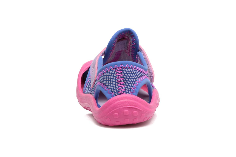 Sandalias Nike Nike Sunray Protect (Td) Rosa vista lateral derecha