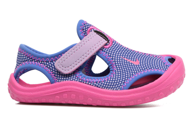 Sandalen Nike Nike Sunray Protect (Td) rosa ansicht von hinten