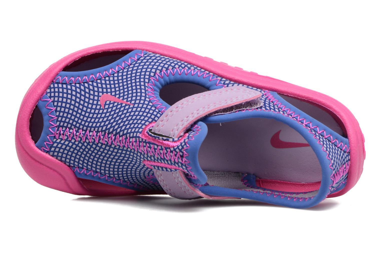 Sandalias Nike Nike Sunray Protect (Td) Rosa vista lateral izquierda