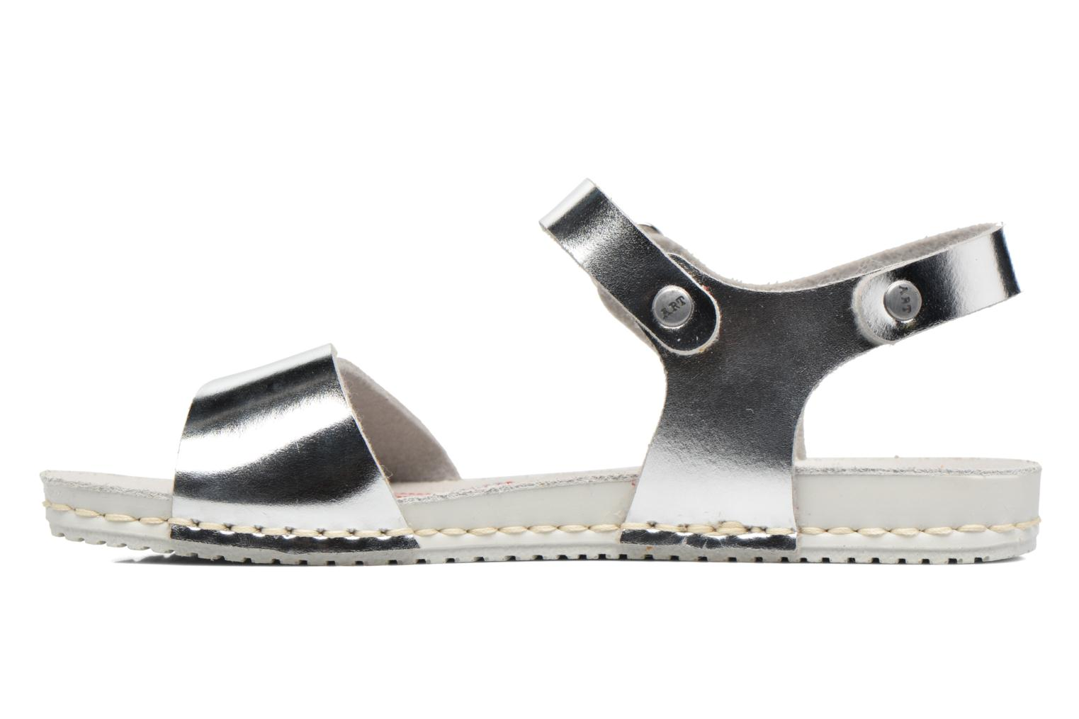 Sandals Art A271 Paddle Silver front view