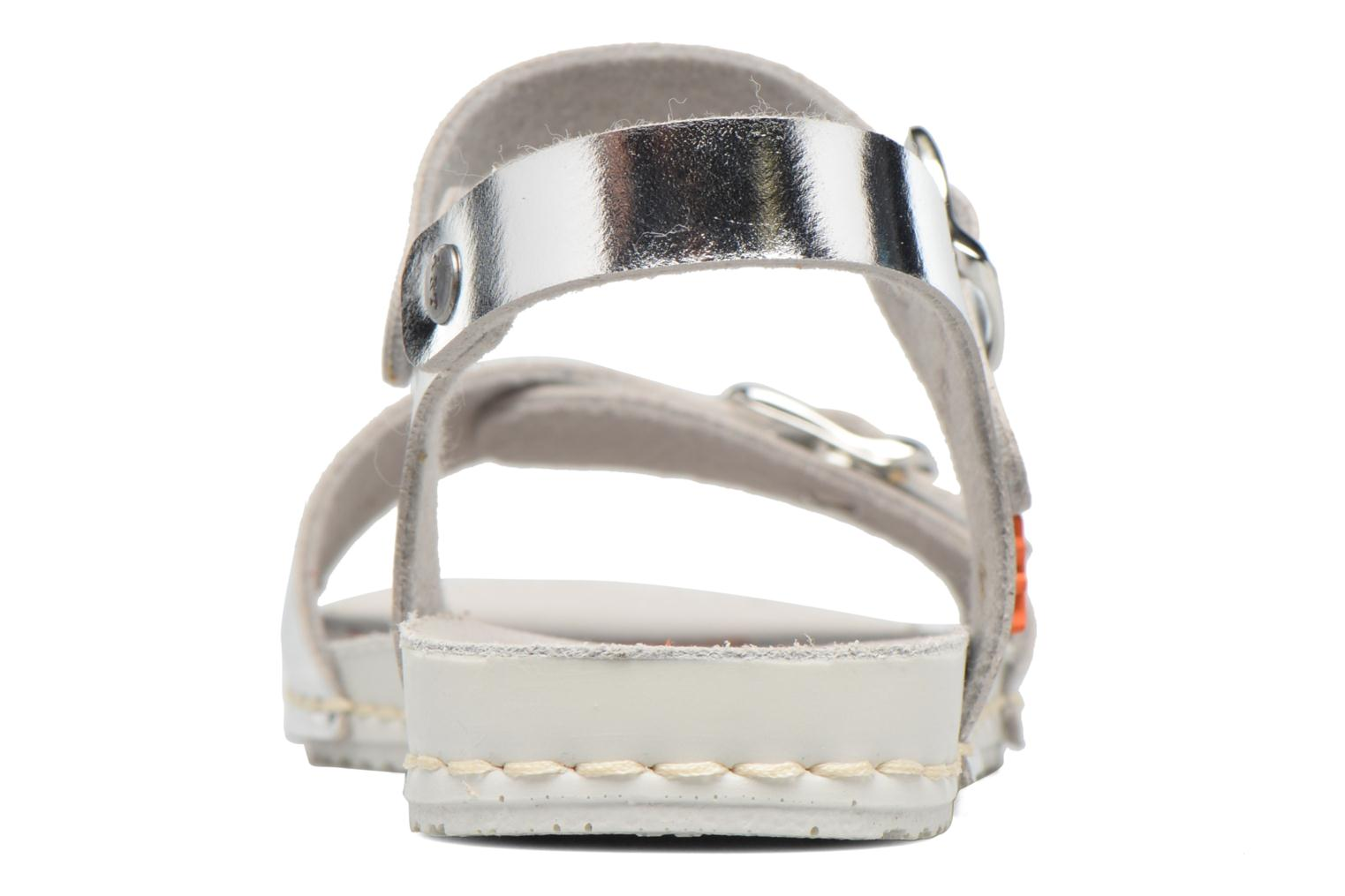 Sandals Art A271 Paddle Silver view from the right