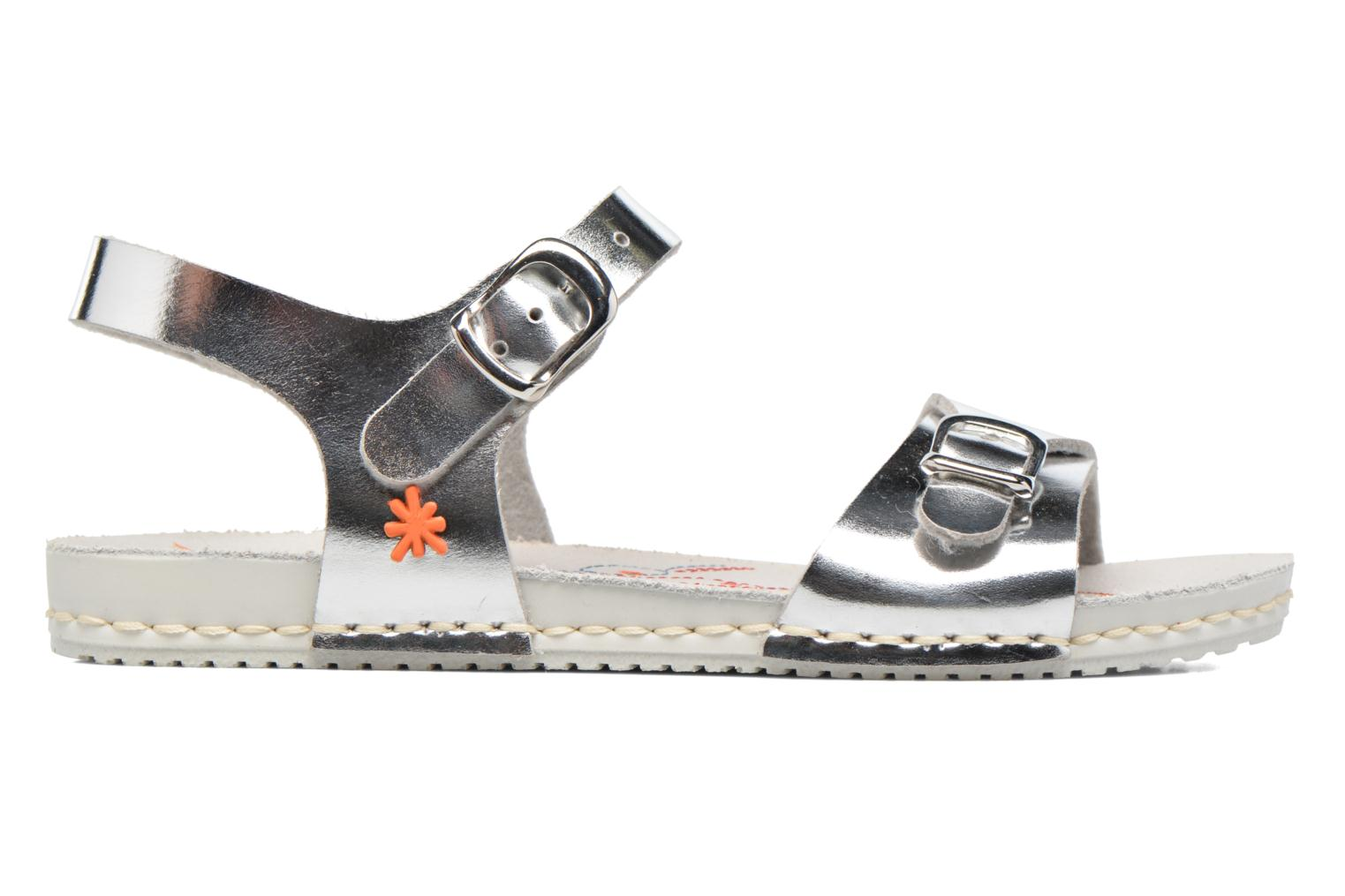 Sandals Art A271 Paddle Silver back view