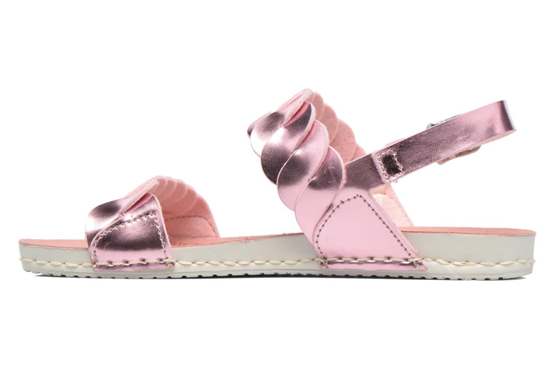 Sandales et nu-pieds Art A274 Paddle Rose vue face
