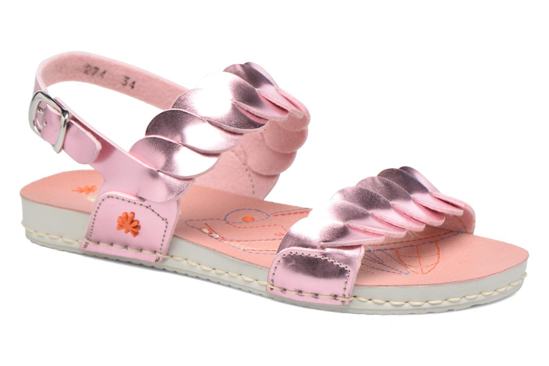 Sandales et nu-pieds Art A274 Paddle Rose vue détail/paire