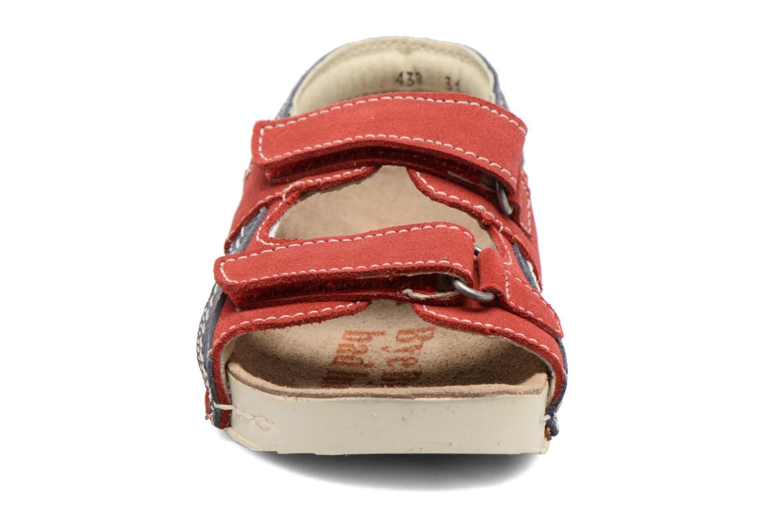 Sandales et nu-pieds Art 438 I Play Rouge vue portées chaussures