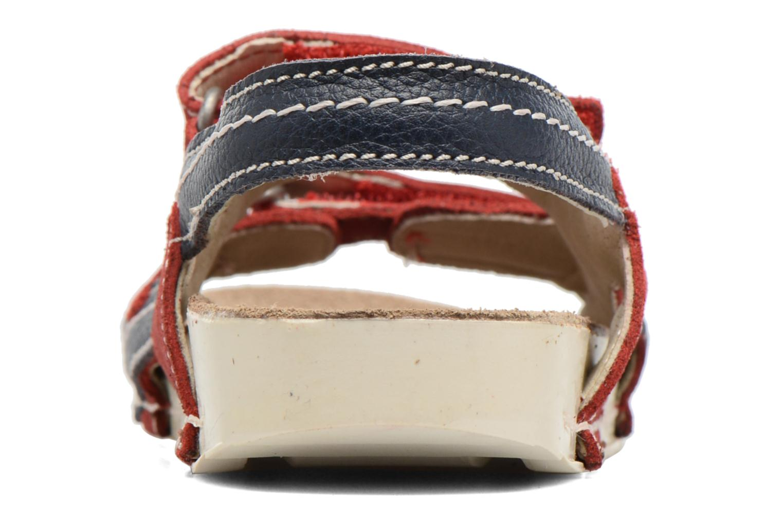 Sandales et nu-pieds Art 438 I Play Rouge vue droite