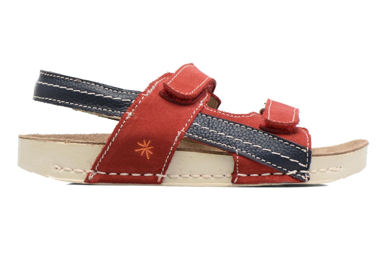 Sandales et nu-pieds Art 438 I Play Rouge vue derrière