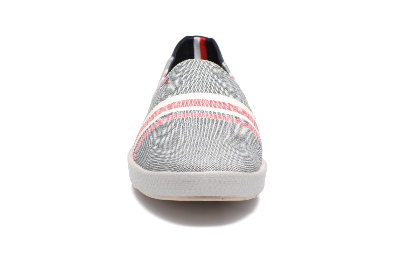 Espadrilles Tommy Hilfiger Granada D2 Gris vue portées chaussures