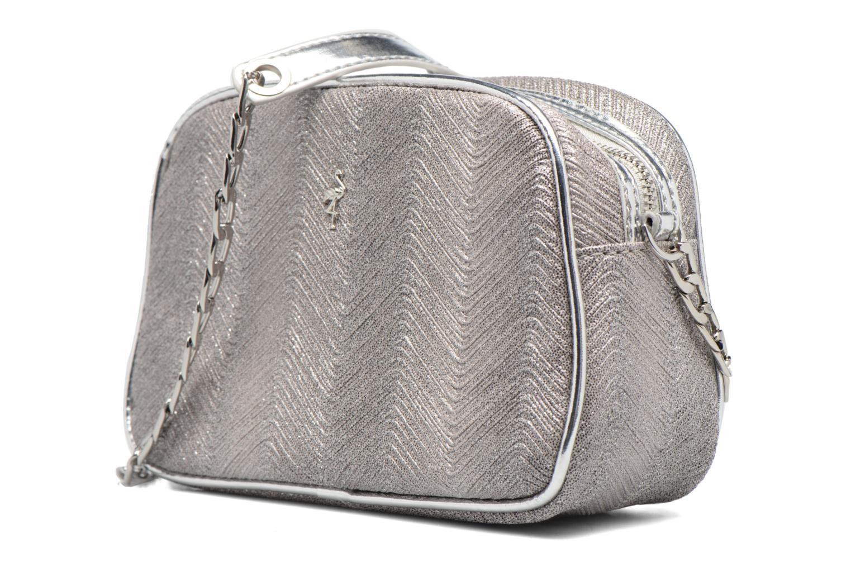 Handbags Menbur BRAZZAVILLE Silver model view