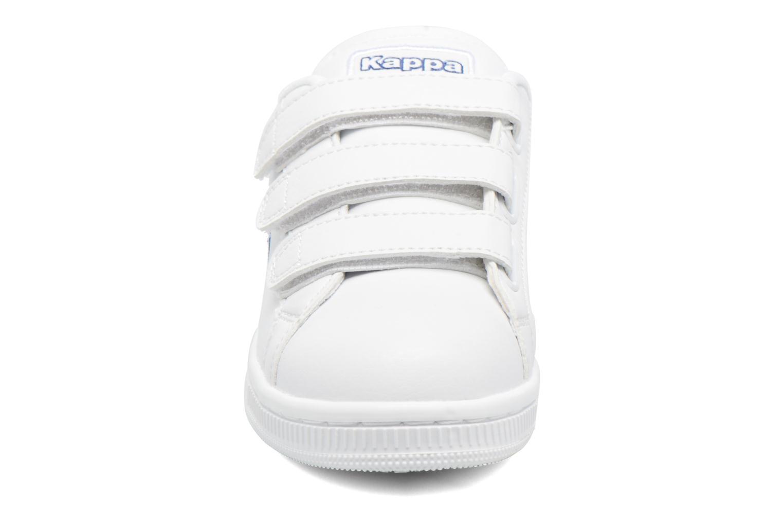 Baskets Kappa Maresas Kid Blanc vue portées chaussures